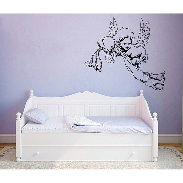 Cherub Vinyl Wall Decal