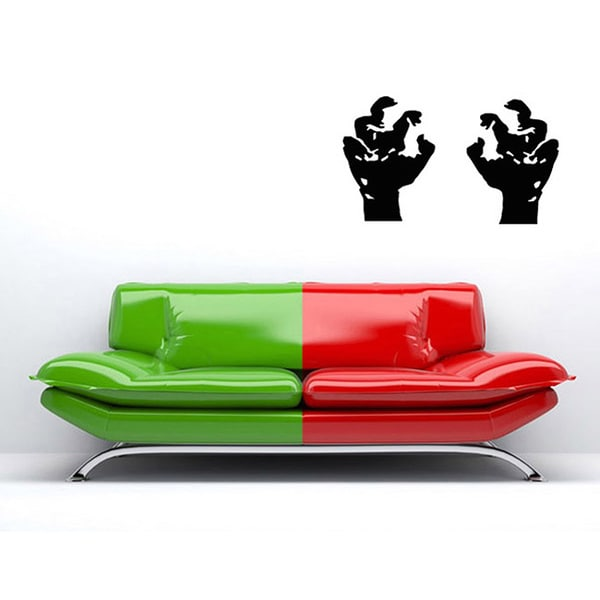 Horror Hands Vinyl Wall Decal