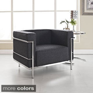 Dark Grey Arm Chair