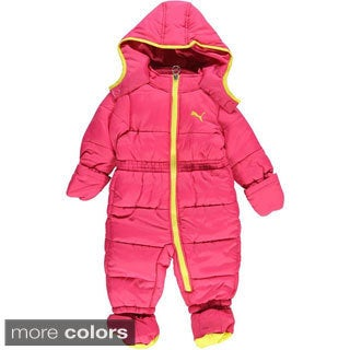 Puma Girls Arctic Star Snowsuit