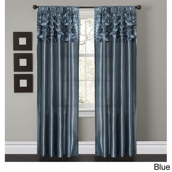 Lush Decor Circle Dream 84 inch Curtain Panels (Set of 2)