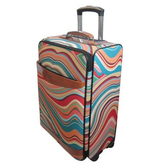 Amerileather 22-inch Whirler Carry-on Pullman Spinner Upright
