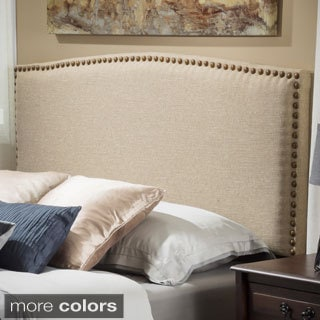 Christopher Knight Home Del Mar Queen Canvas Fabric Headboard