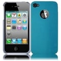 BasAcc Blue with Silver Sides Case for Apple iPhone 4/ 4S GSM/ CDMA