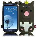 BasAcc Pig Case for Samsung Galaxy S3 i9300/ i747/ L710/ T999/ i535