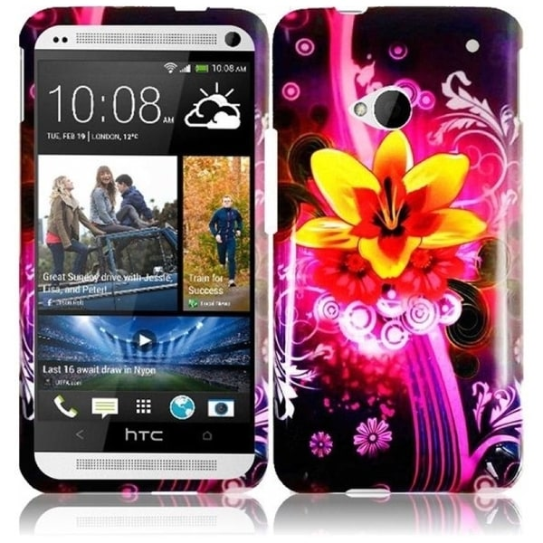 INSTEN Dream Flower Phone Case Cover for HTC One M7