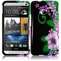 BasAcc Green Flower Case for HTC One M7