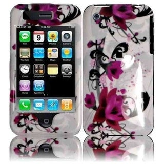 BasAcc Purple Lily Case for Apple iPhone 3G/ 3GS