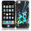 BasAcc Blue Flower Case for Apple iPhone Lite/ 5C