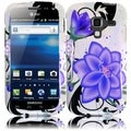 BasAcc Violet Lily Case for Samsung Galaxy Exhilarate i577