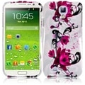 BasAcc Purple Lily Case for Samsung Galaxy S4 i9500