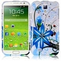 BasAcc Blue Splash Case for Samsung Galaxy S4 i9500