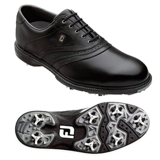 FootJoy Mens Superlites Black Golf Shoes