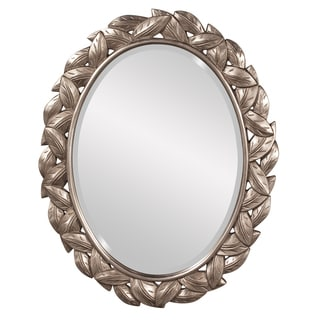 Julius Leaf Border Oval Mirror