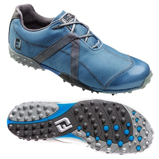 Footjoy Mens M Project Spikeless Blue/ Grey Golf Shoes
