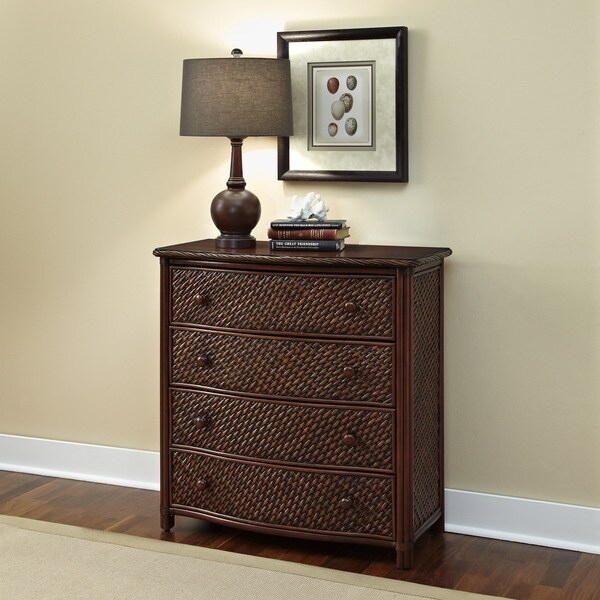 Marco Island Drawer Chest Refined Cinnamon Finish