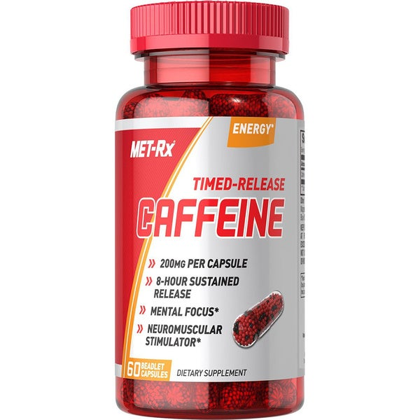 MET-Rx Time Released Caffeine (60 Capsules)