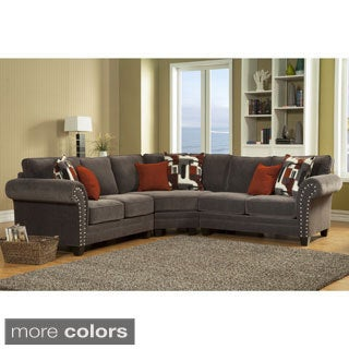 Grey Sectional Sofas Overstock Shopping Stylish