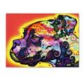 Dean Russo 'Profile Boxer' Canvas art