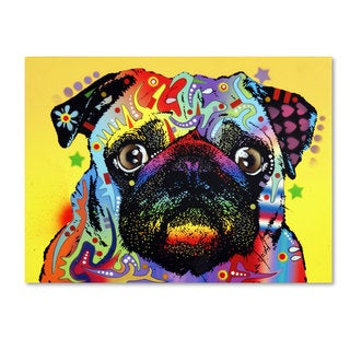 Dean Russo 'Pug' Canvas art