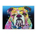 Dean Russo 'The Bulldog' Canvas art