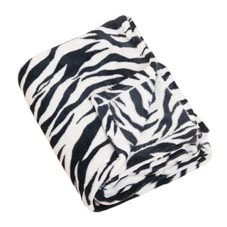 Zebra Print Throw