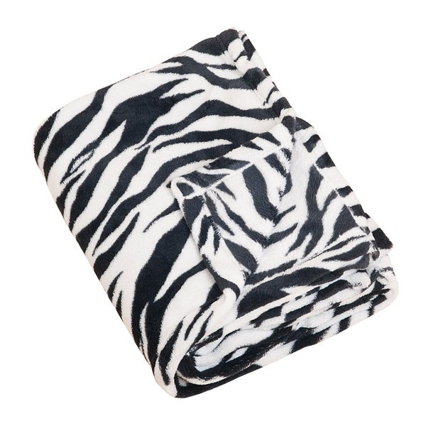 Zebra Print Throw