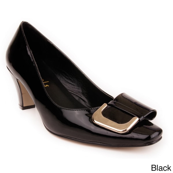 Jade Shoes Women Buckle Toe Pump