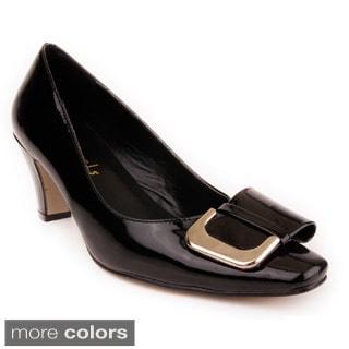 Jade Shoes Women Buckle Toe Pump