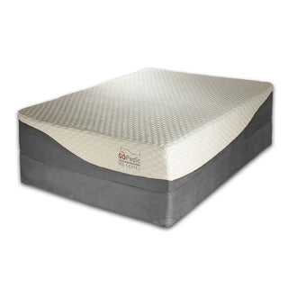 Go Pedic 12-inch King-size Gel Memory Foam Mattress