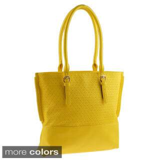 Buxton 'Gianna' Geometric Embossed Tote