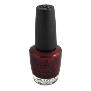 OPI 'Bogota Blackberry' Red Nail Lacquer