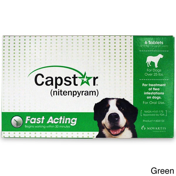 Capstar Flea Treatment (6-pack)