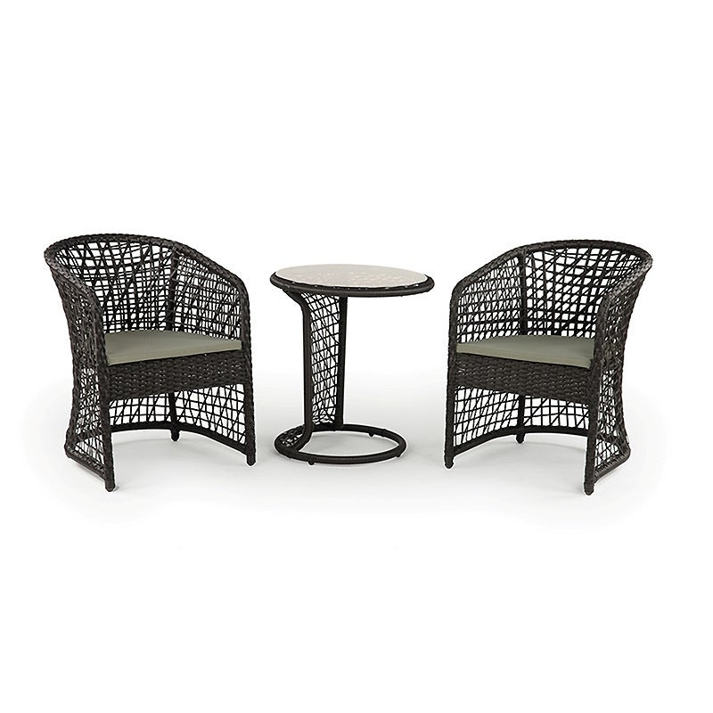 Coquette All-weather Wicker Patio Furniture Bistro Set at Sears.com
