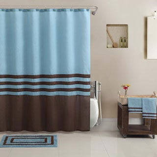 Hotel Collection Shower Curtain, BathTowel, Rug Set