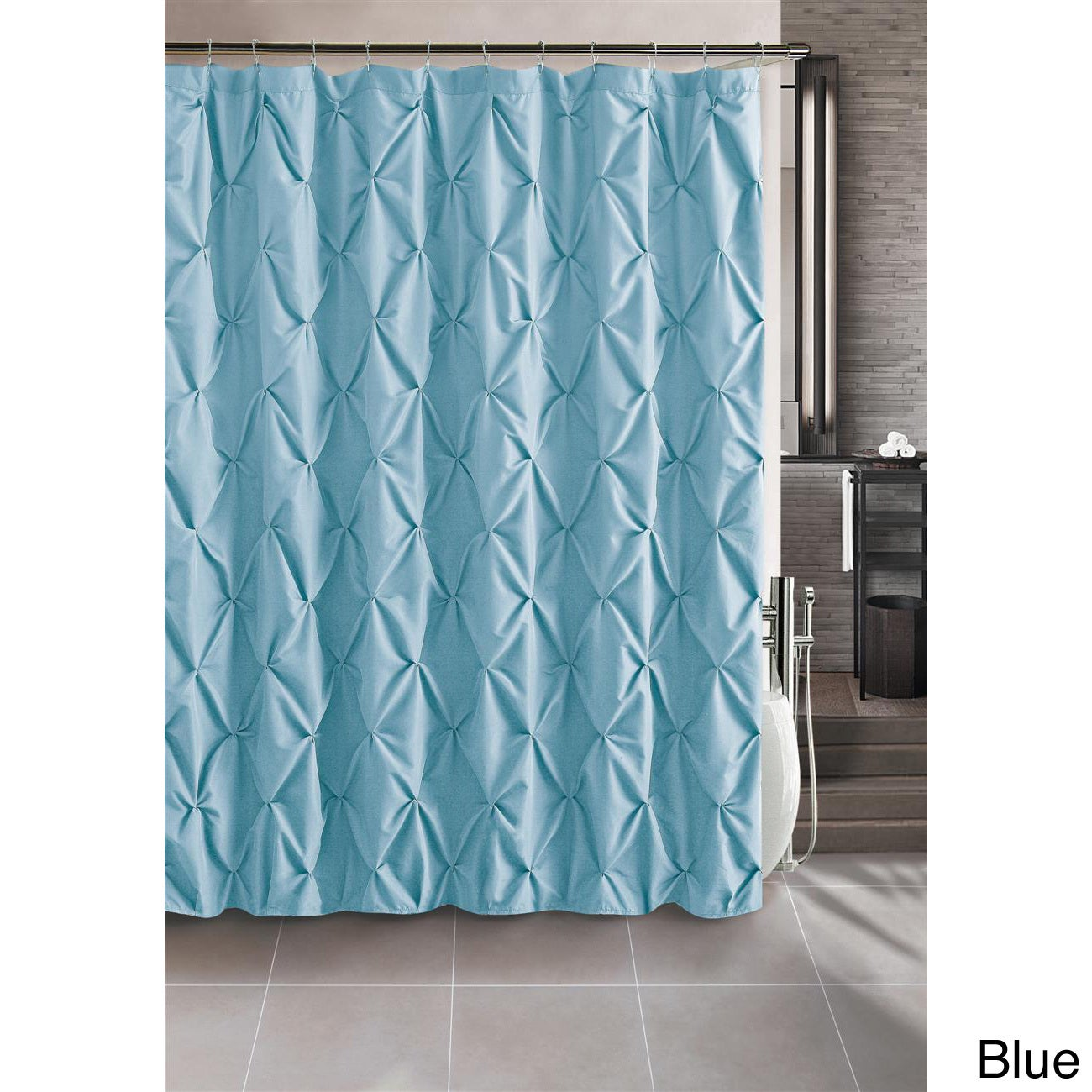 Carmen Contemporary Shower Curtain - Overstock Shopping - Great Deals ...
