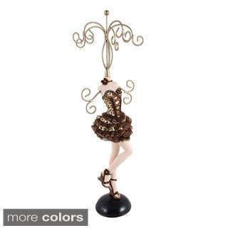 Jacki Design Pin-up Cheetah Jewelry Mannequin (Small)