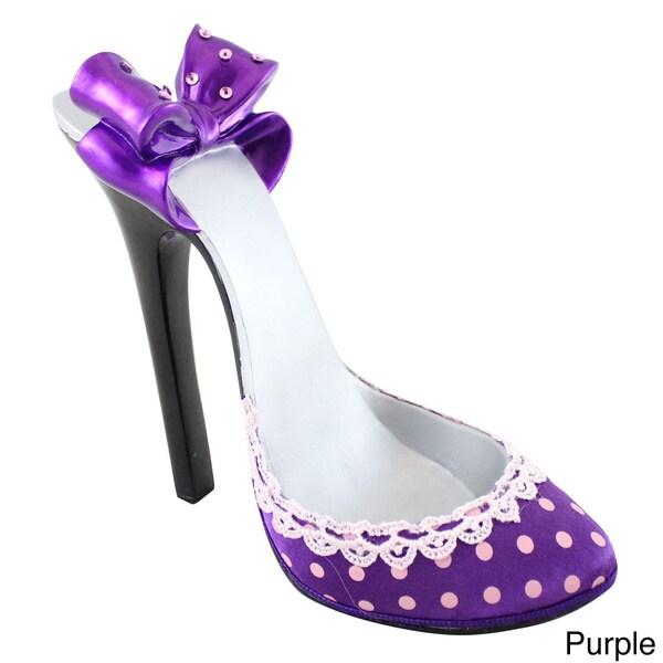 Jacki Design Polka-dot Romance Shoe Cell Phone Holder