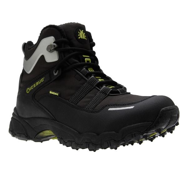 Icebug Women's 'Speed-L' Black BUGrip Ankle-cut Walking Boots