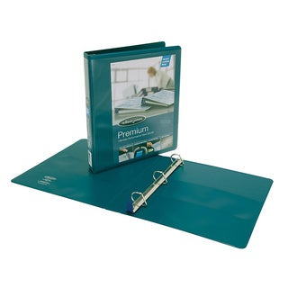 Wilson Jones Premium 12-pack Dark Teal 1.5-inch Locking D-Ring Binder