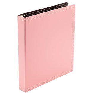Wilson Jones 12-pack Resource Recycled 1-inch Pink 3-Ring Binders