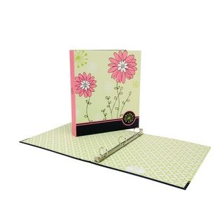 Wilson Jones Recycled 1-inch Bliss Floral Binder