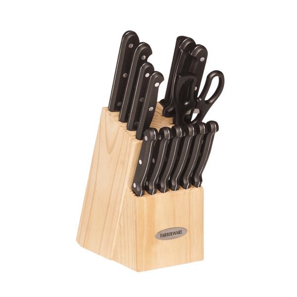 Farberware 15-piece Stamped Triple Riveted Cutlery Set