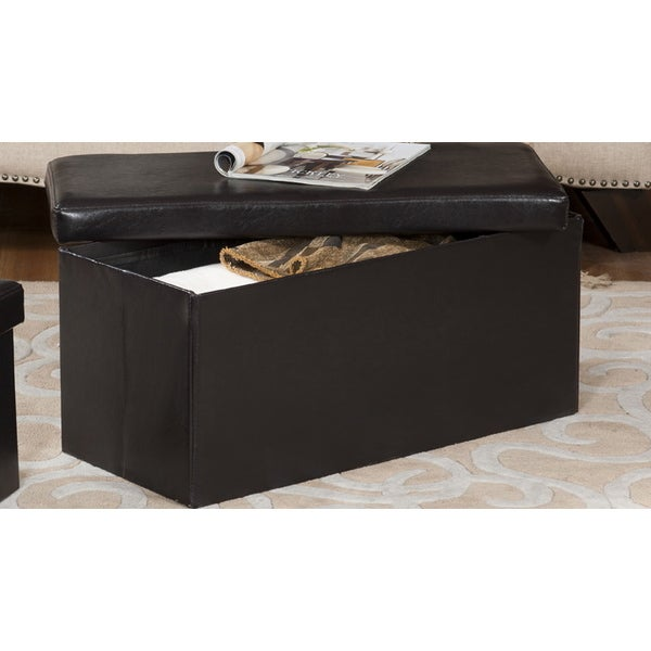 K And B Large Storage Bench Overstock Shopping Great Deals On Ottomans