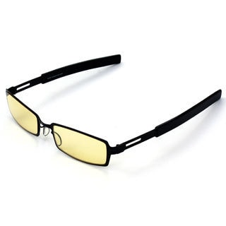 Computer iVisionwear Midnight Black Metal Frame Glasses