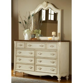 Crescent Manor 9-drawer Dresser and Optional Mirror