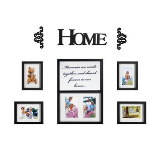 Melannco 8-piece 'Home' Decorator Set