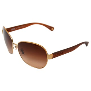 Coah Women's 'Elaina HC7019 909928' Gold/Dark Tortoise Sunglasses