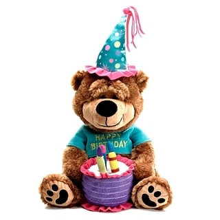 Burton and Burton Plush Birthday Musical Bear