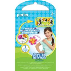 Perler Snap-Ins Fun Fusion Fuse Bead Activity Kit - Flower Ring